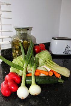 Kobieta po czterdziestce: Kapuśniaczek z młodych warzyw.