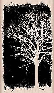 New Hero Arts 2013 Rubber Stamp Overexposed Trees | eBay