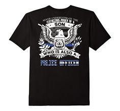 Men's Police Son Never Underestimate The Power-backside Small Black Shoppzee Firefighter, Police & Law Enforcement Tee http://www.amazon.com/dp/B01C5AC1UE/ref=cm_sw_r_pi_dp_YU6Zwb1742KB6