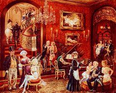 Bordello via MuralsYourWay.com