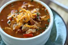 Crock Pot Chicken Fajita Soup is easy to make and tasty. The entire family will enjoy this Low Carb Crock Pot Chicken Fajita Soup recipe. You must try it! Keto Crockpot Recipes, Ketogenic Recipes, Slow Cooker Recipes, Soup Recipes, Chicken Recipes, Keto Chicken, Healthy Recipes, Skinny Chicken, Recipes Dinner