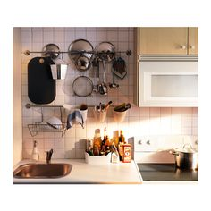 BOHOLMEN Chopping board - hang important stuff in front of sink
