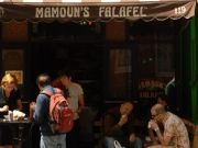 Mmmmmmm....Mamoun's. Cheap and Fresh.