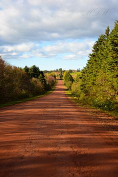 Photograph Red Roads of PEI by MemoriesDoneWonderfully Photography on Creative Makeup Photography, Pei Canada, Prince Edward Island, Canada Travel, East Coast, Birth, Backdrops, Country Roads, Times