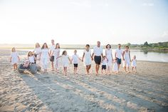 Maine family beach portrait on Drakes Island photographed by Brea McDonald Photography. Nantucket Beach, Family Beach Portraits, Extended Family, New Hampshire, Maine, Island, Board, Photography, Photograph
