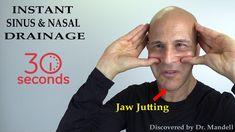 Jaw Jutting Technique for Sinus Congestion, Stuffy Nose, Tinnitus, Verti. Sinus Pressure Relief, Relieve Sinus Pressure, Sinus Relief, Young Justice, Sinus Infection Remedies, Sinus Headache Remedies, Congested Nose Remedies, Nasal Congestion Remedies, Relieve Sinus Congestion