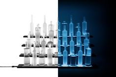You want it even more impressively or have your own ideas for adaption and expansion? No problem for BottLED®!  You can expand and adjust your system as desired in its length or, for example, stepwise. Upon request customized shapes and lengths are possible.  #bar #spirits #cocktails #lighting #led #bottles #bardesign #bottled