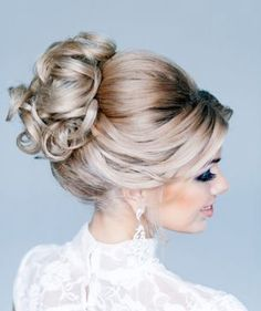 Wedding day hairstyle