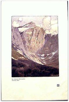 Gustav Jahn - Die Triglav Nordwand -