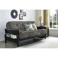 futon  futonsapartment ideascouch metro futon sofabed   not fancy but doesn u0027t look bad for under      rh   pinterest
