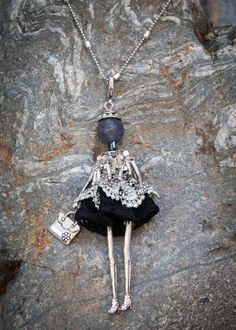 French Doll Necklace Aline - Was £28 | Villancher Fashion Jewellery Boutique