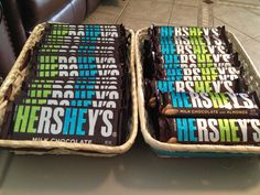 Favors for a twin boy shower! Regular Hershey bars and ones w/ almonds! My sister-in-law did this for my shower. Baby Shower Winter, Baby Shower Fun, Baby Shower Favors, Shower Party, Baby Shower Parties, Baby Boy Shower, Baby Shower Gifts, Twin Baby Boys, Twin Babies