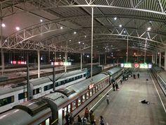 Shanghai Train Station, 2015