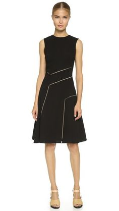 Prabal Gurung Lattice Seam Dress