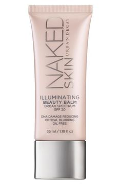Urban Decay 'Naked Skin' Illuminating Beauty Balm Broad Spectrum SPF 20 at Nordstrom.com. Minimize pores, lines, wrinkles and redness instantly while getting significantly firmer, more lifted skin in eight weeks with Naked Skin Illuminating Beauty Balm Broad Spectrum SPF 20 by Urban Decay. The multitasking formula hydrates instantly while improving hydration over time, primes so makeup goes on beautifully and stays put, protects with SPF 20.
