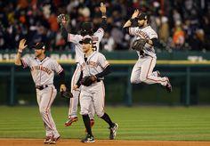 Angel Pagan Photos: World Series - San Francisco Giants v Detroit Tigers - Game Three
