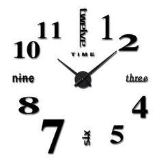 Industrial Gear Wall Clock Decorative Retro Metal Wall Clock Industrial Age Style Room Decoration Wall Art Decor Y200109 From Shanye10, $54.301 | DHgate.Com Best Wall Clocks, Mirror Wall Clock, Wall Clock Silent, Wall Clock Design, Diy Mirror, Acrylic Mirror, Mirror Glass, Wall Clock Sticker, Decoration Stickers