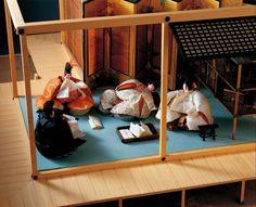Heian Period, Japanese Kimono, Outdoor Furniture, Outdoor Decor, Bunk Beds, Toddler Bed, Miniatures, Asian Beauty, Korea