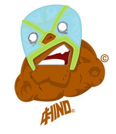 Lucha luchaaaaa by Carlos Cordova, via Behance