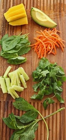 Fresh Spring Rolls {& Lettuce Wraps} with 3 Dipping Sauces