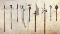 Kingdom Come: Deliverance - game artworks at Riot Pixels Kingdom Come Deliverance, Medieval Weapons, Blacksmithing, Artworks, King Arthur, Game, Swords, Soldiers, Ideas