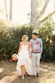 Whimsical Woodland Garden Wedding