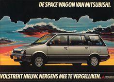 mitsubishi space wagon - Google zoeken Op de Salon stand te Brussel in het jaar 1983!!! Sinds was het mijn droom deze te bezitten.