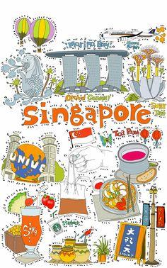 Singapore illustration