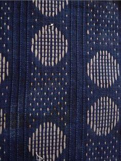 Supplementary warp in dot pattern.