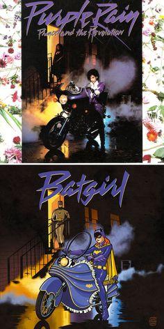 80′s Album Comic Superhero Covers