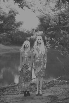 Haunting 70s-Inspired Editorials - The Fashion Gone Rogue 'Grey Gardens' Stars Sabine and Djosfien (GALLERY)