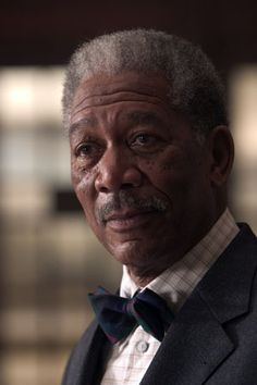 Morgan Freeman as Lucius Fox in Batman Begins Lucius Fox, Driving Miss Daisy, The Dark Knight Trilogy, Afro, Morgan Freeman, Best Supporting Actor, Idole, Star Wars, Hollywood Icons