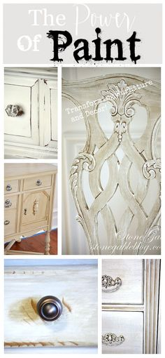 THE POWER OF PAINT-Transforming furniture and decor!