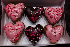 heart cupcakes ♥ | via Tumblr