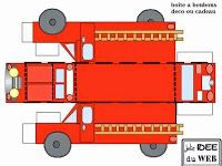 Oh My Fiesta! in english Fireman Party, Firefighter Birthday, Fireman Sam, Police Party, Oh My Fiesta, 3rd Birthday Parties, Fire Engine, Paper Toys, Fire Trucks