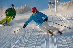 VERMONT's Stratton Mountain - a highly pleasurable ski resort -Nice form !!