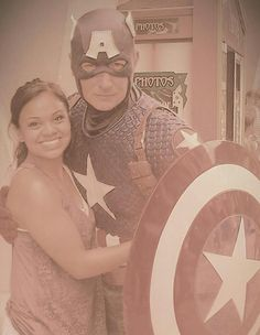 Captain America my man/hero