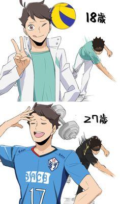 Haikyuu Karasuno, Haikyuu Funny, Haikyuu Manga, Haikyuu Fanart, Haikyuu Ships, Kageyama, Oikawa, Comic Anime, Anime Manga