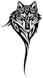"""Képtalálat a következőre: """"wolf tribal tattoo"""""""