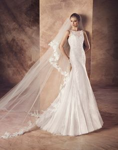 Introducing our Avenue Diagonal 2016 Collection by Pronovias. Exclusive designer wedding dresses for all our trendy/chic brides. San Patrick, 2016 Wedding Dresses, Designer Wedding Dresses, Wedding Gowns, Princess Wedding, My Princess, Bridal Musings, Wedding Album, Just Married