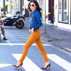 Street style all jeans by @foccaj