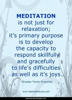 Meditation Quote Visit http://www.ReflectionWay.com #BenefitsofMeditation