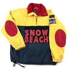 Snow Beach Polo Ralph Lauren Jacket Vintage Stadium P-92 Sport Color Block $3,995.95