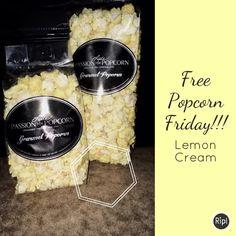 Free Popcorn, Lemon Cream, Friday, Lime Crime, Lemon Curd