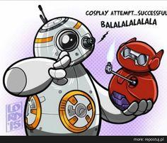Repostuj.pl :: star-wars-big-hero-six-bb-8-b-max-cosplay