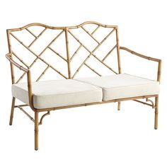 The new Bayan faux bamboo inspired furniture collection from Pier 1