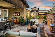 Cortesa in @ranchomv by Shea Homes So Cal Plan 1: Backyard