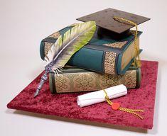 Graduation Cake by Serdar Yener   Yeners Way - Cake Art Tutorials