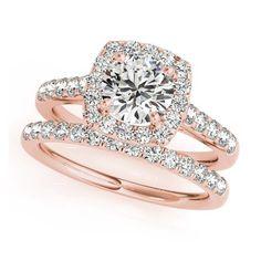 This time with more diamondS  #diamonds #diamondring #moissanite #engagementring #engaged #proposal #theknotrings #rosegold #apbling #bridesrings #isaidyes #ringoftheday #bridaljewelry #bridal #jewelrygram #brides #2016brides #instabride #instawedding #bling #luxury #ladies #bestfriend #hinthint #howheasked