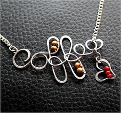 Whimsical Wire Jewelry by Charliee ~ The Beading Gem's Journal